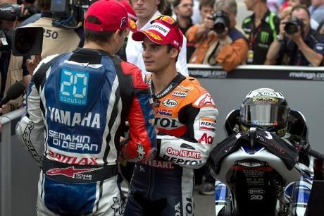 Duel Spaniard Warnai MotoGP Ceko