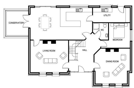 Planos de casas modelos y dise os de casas planos de for Fotos de fachadas de casas estilo californiano