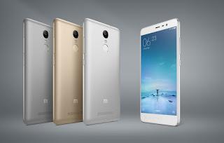 Xiaomi Redmi Note 3, smartphone