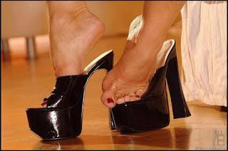 野性女同志 - silvia saint sexy high heels