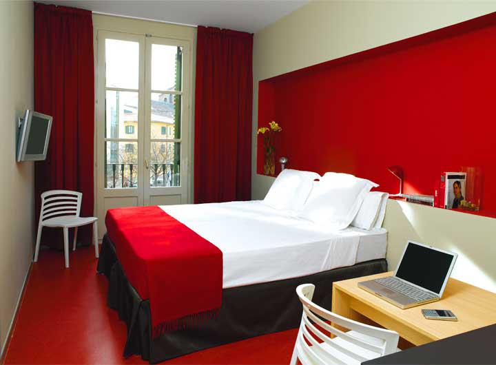 Decoracion actual de moda paredes pintadas de dos colores - Colores de moda para paredes de habitaciones ...