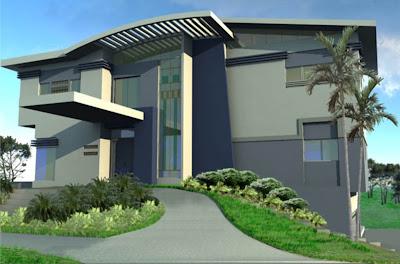 Model Rumah modern minimalis