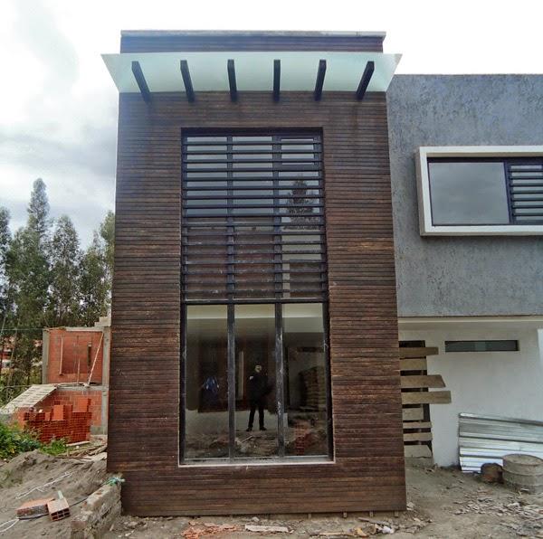Fachada en chonta el modelo - Recubrimientos para fachadas ...