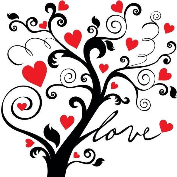 Laminas de corazones de san valent n para imprimir - Laminas para pared ...