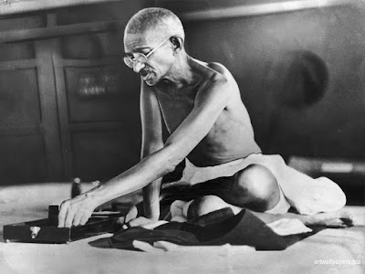 Gandhi, citations, violence, non-violence, vérité, haine, paix, amour, Martin Luther King
