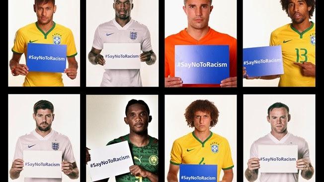 FIFA Ajak Unggah Foto Selfie #SayNoToRacism