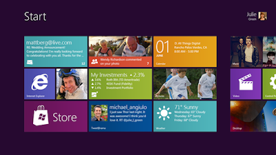 antaramuka baru Windows 8