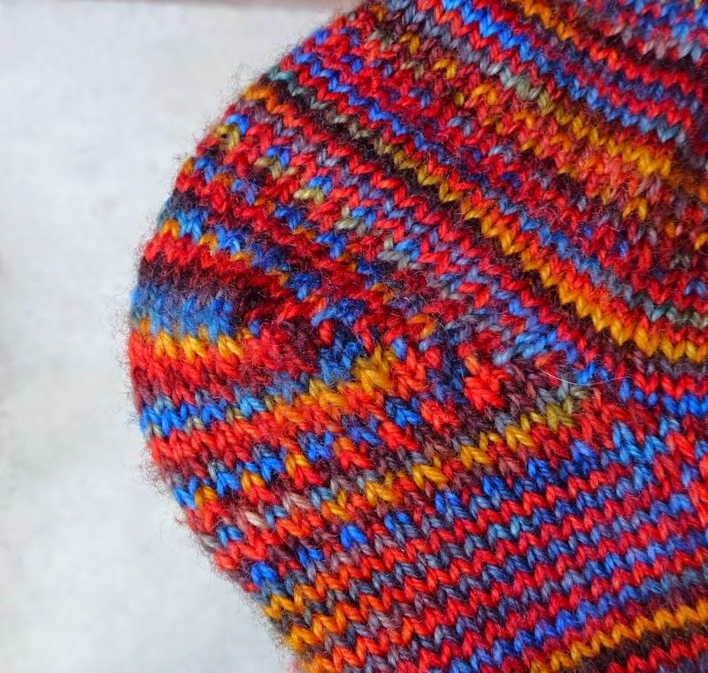 Slipped Stitch Knitting Fix : NOT JUST ABOUT KNITTING: Slipped Stitch Sock Re-Knit