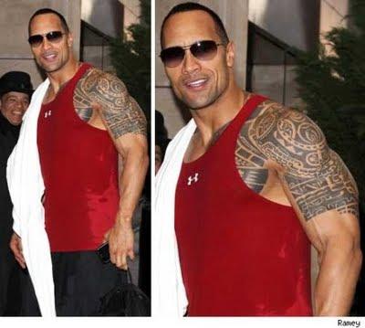 tudo de bom the rock significado sua tattoo