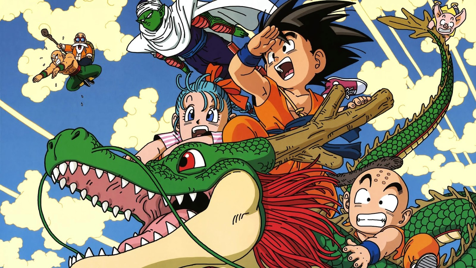 Dragon Ball HD & Widescreen Wallpaper 0.361219213226422