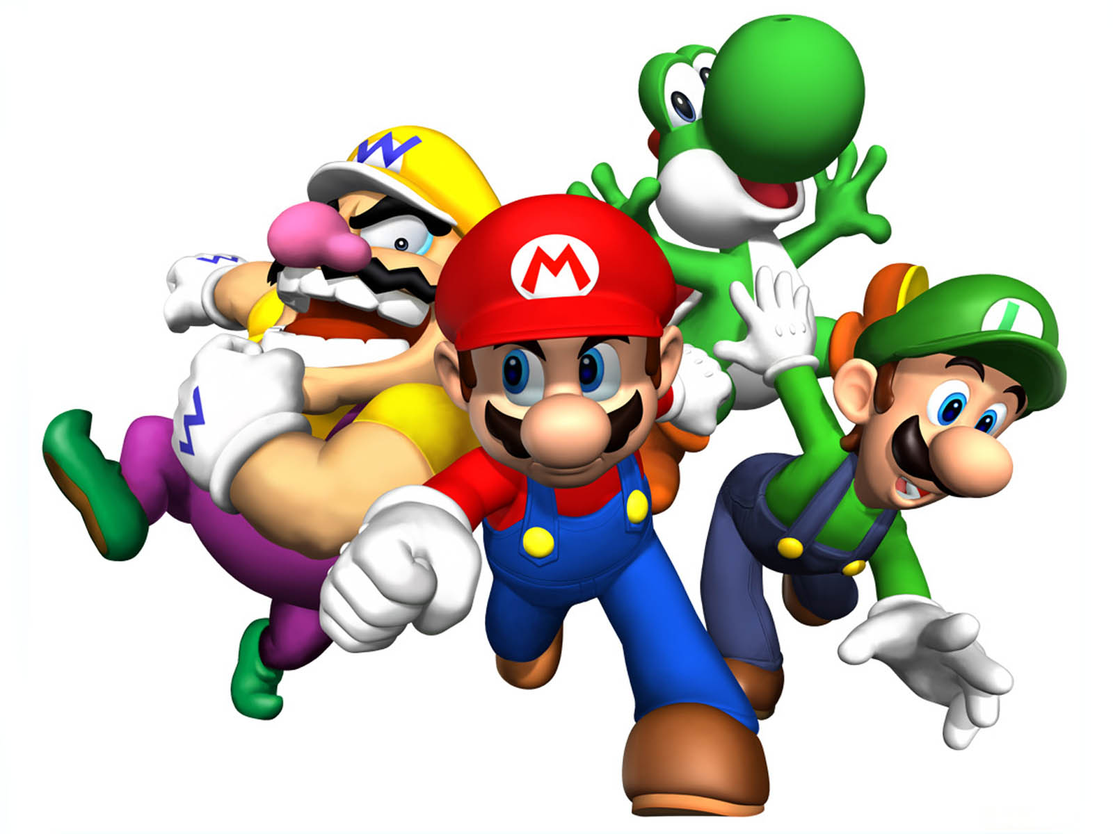 Super Mario HD & Widescreen Wallpaper 0.691625637031215