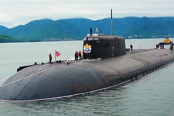 Kapal selam Angkatan Laut Rusia