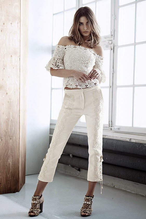 Andreea Diaconu for HM - Cool Chic Style Fashion