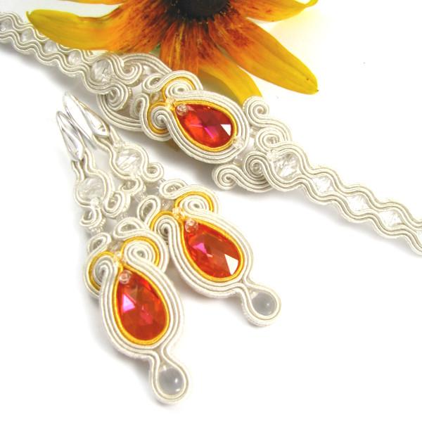 Biżuteria sutasz dla Panny Młodej folk