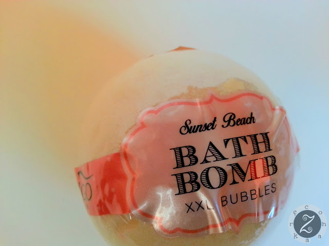 Sunset Beach Bath Bomb XXL Bubbles indigo