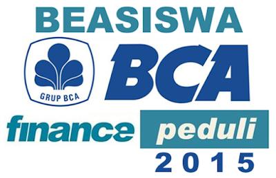 Beasiswa BCA Finance 2015