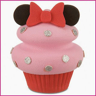 Cupcakes Minnie Mouse, parte 2