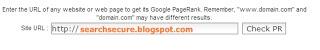 Google check pagerank