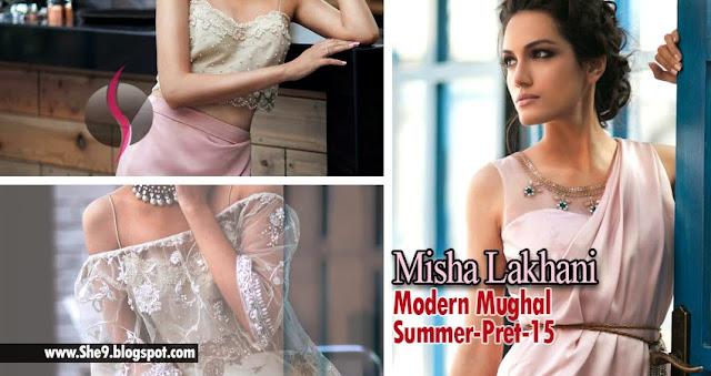Modern Mughal Dresses by Misha