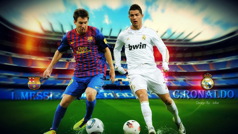 Ronaldo contra Messi