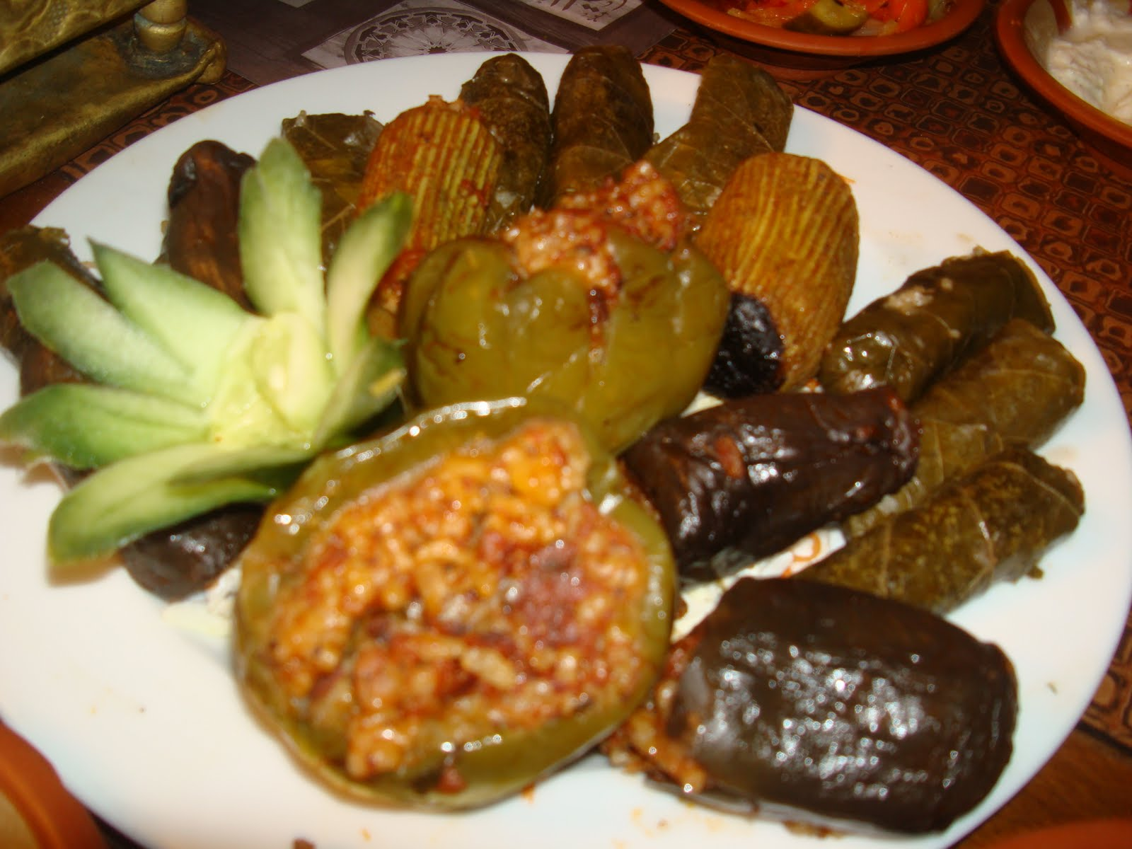 Traditional Food And Drink In Egypt