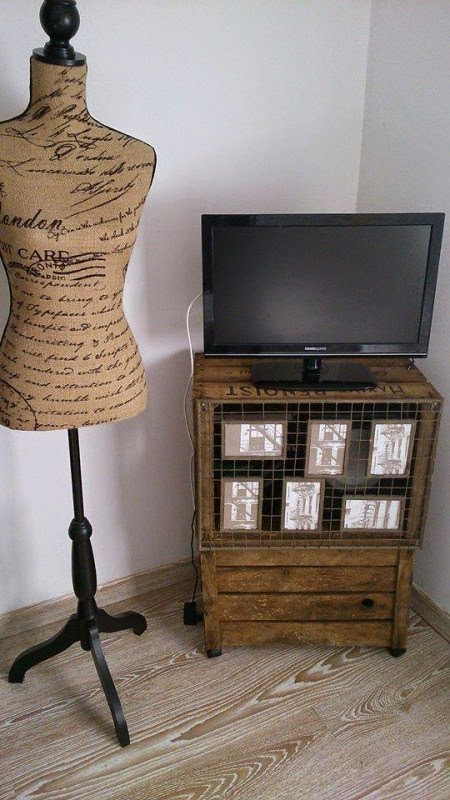 Cajas de Madera, Ideas de Reciclaje y Decoracion Interior