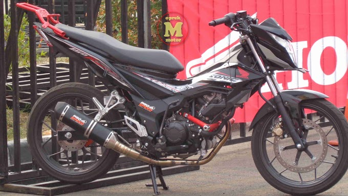 First Ride New Honda Sonic 150R - Khas Mesin Stroke Panjang