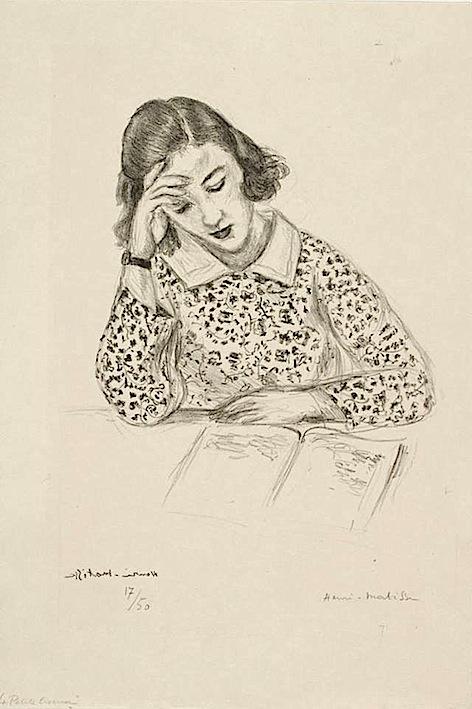 Henri Matisse. A Girl Reading,1925