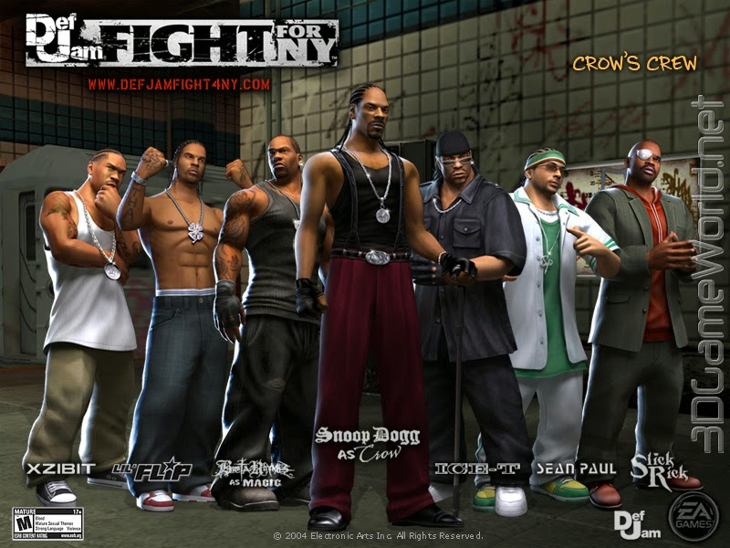 Download Game PC Def Jam: Fight for NY PS2 ISO