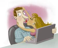 """Redes sociais ajudam """"encalhados"""" a encontrar seu par."""