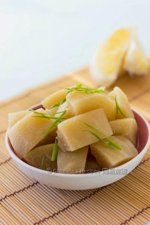 燜柚子皮 Braised Pomelo Pith03