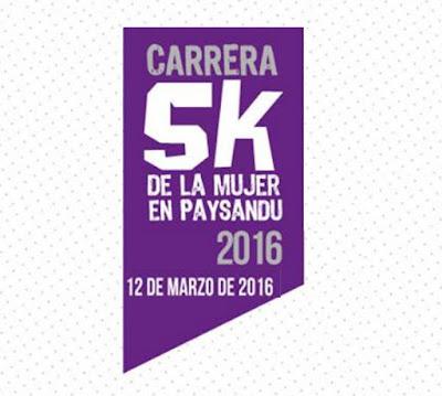 5k Carrera de la mujer en Paysandú (12/mar/2016)