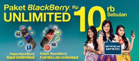 paket blackberry unlimited murah