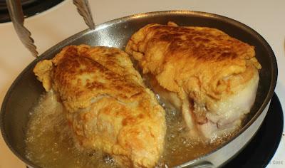 chicken breasts, oil