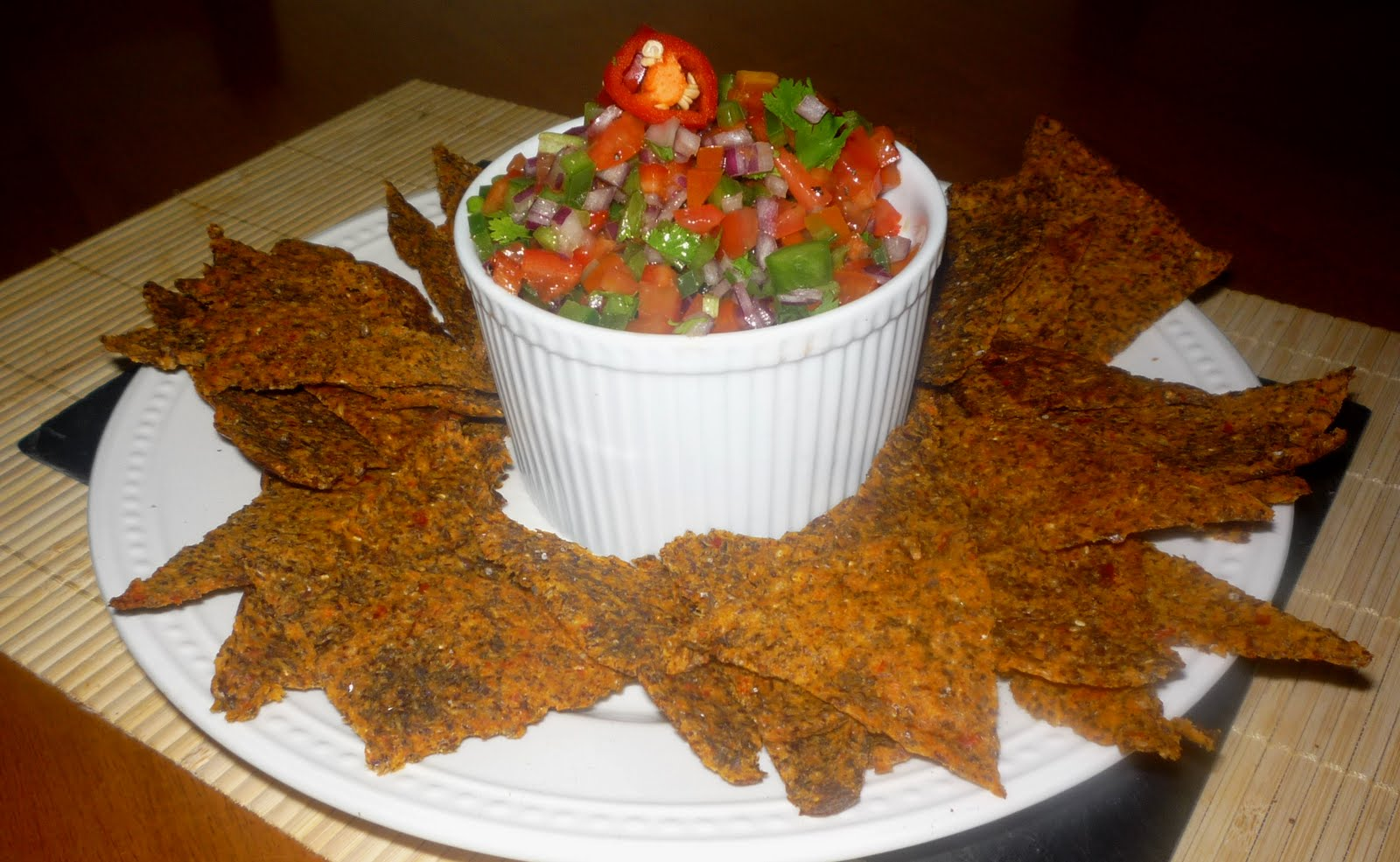 "Tastes For Everyday Life: Paleo ""Corn"" Chips..."
