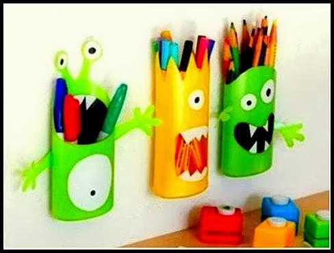 Kreativiti DIY Bekas Plastik Kitar Semula