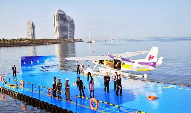 Pesawat Amfibi China