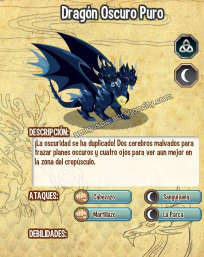 imagen del dragon oscuro puro y sus caracteristicas