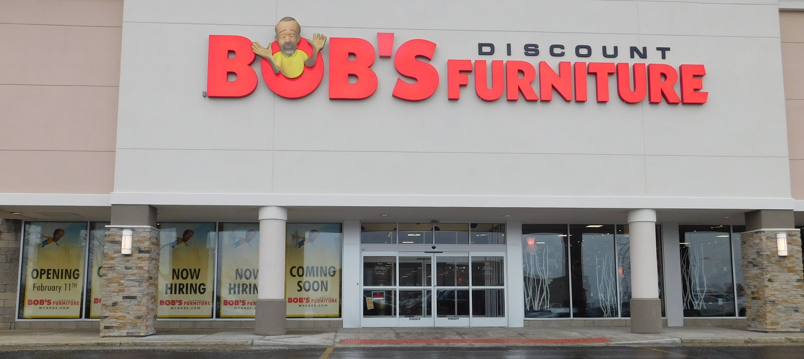 Store locations bobs discount furniture autos post for Inexpensive furniture stores