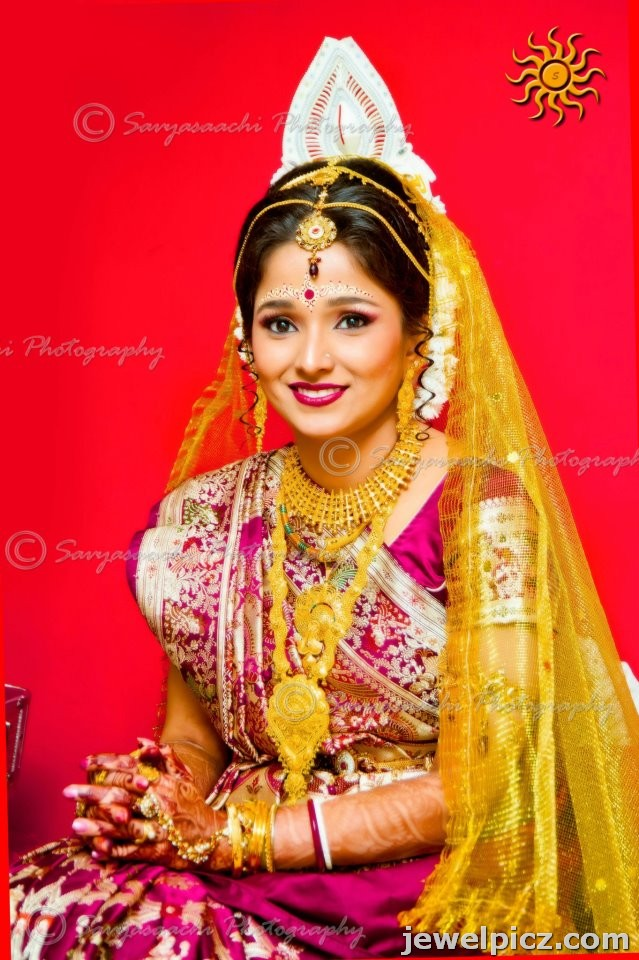 Bengali Bridal Jewellery Models ~ Latest Indian Jewellery designs