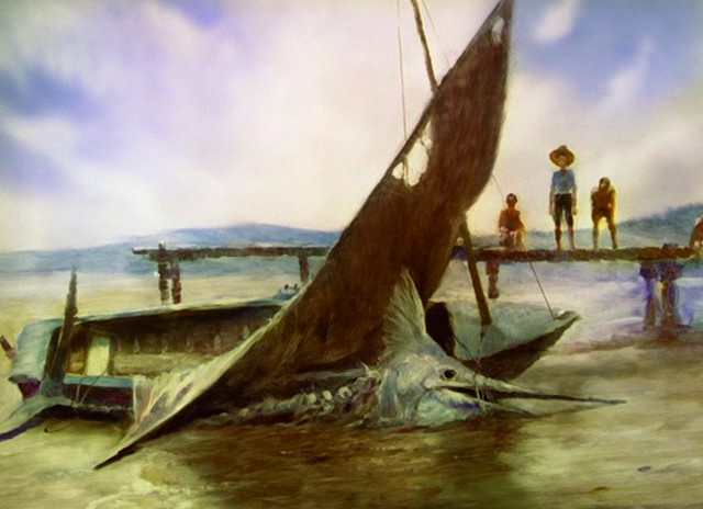 an analysis of how an old man did his best to catch a big fish in old man and the sea by ernest hemi The old man and the sea was the last novel ernest hemingway the main character in the old man and the sea is an old man named hoping to catch a big fish.
