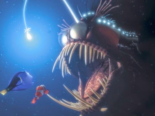 Nemo And Dora Meet The Queen Of Anglerfish, With Her Exceptional Life Form Great Ideas
