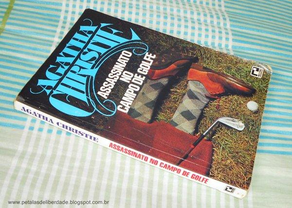 Resenha, livro, O assassinato no campo de golfe, Agatha Christie, trechos