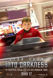 Anton Yelchin Star Trek Poster