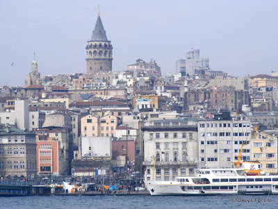 Karaköy & Galata Tower from Eminönü, Istanbul
