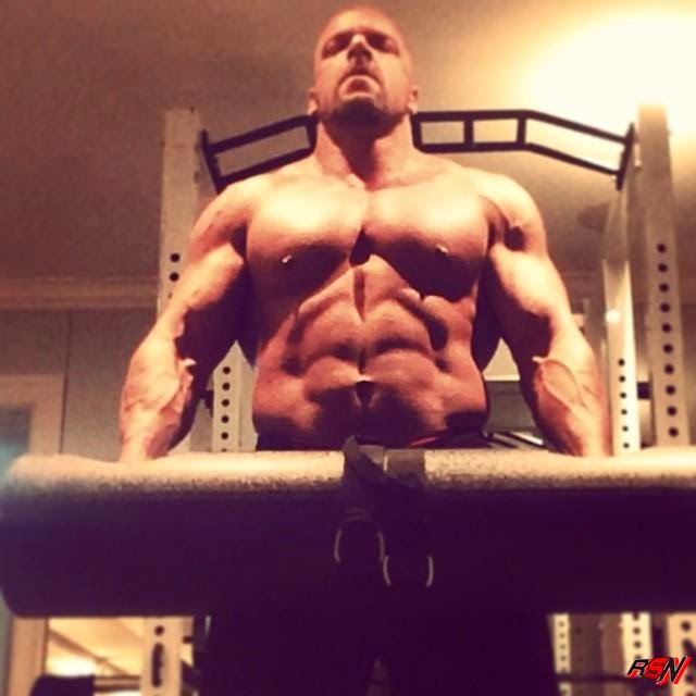 Triple H Hits the Gym.