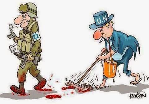 ONU pavimenta o terrorismo internacional.