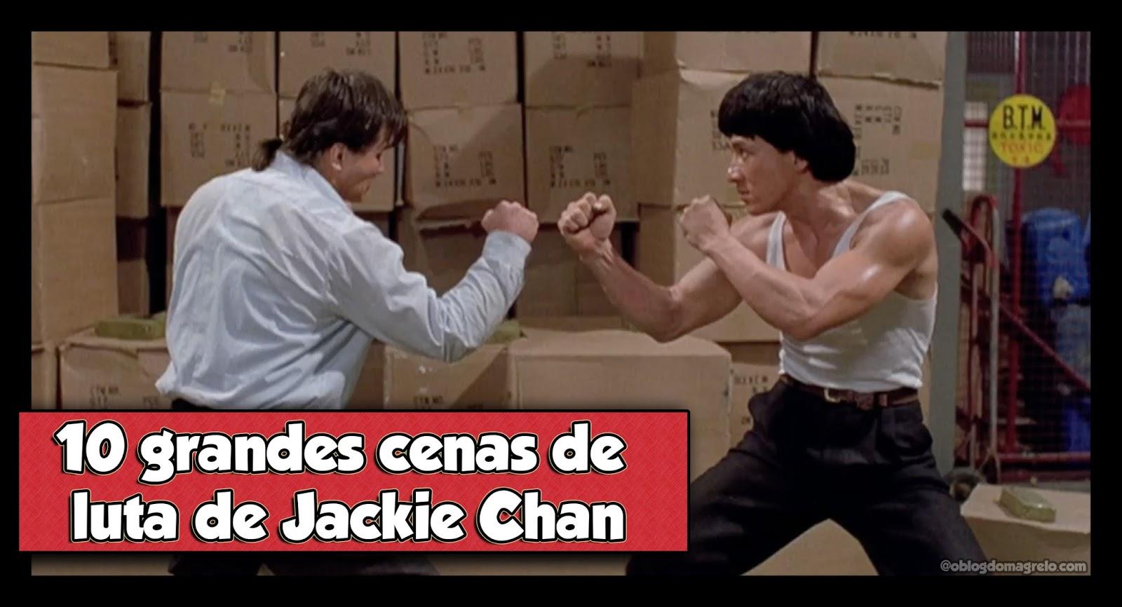 10 grandes cenas de luta de Jackie Chan