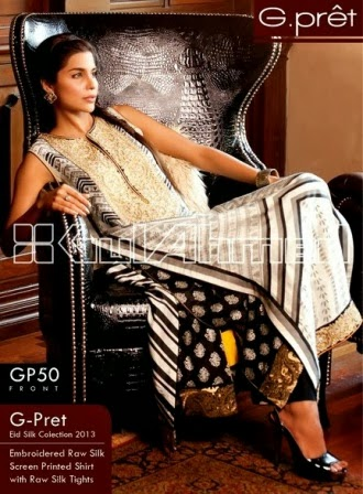 Gul Ahmed Raw Long Frock