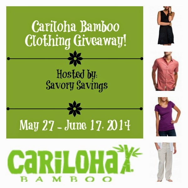 Cariloha Bamboo Clothing Giveaway